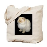 Zeus the White Himalayan Cat  Tote Bag