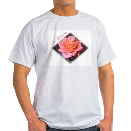 In Bloom Ash Grey T-Shirt