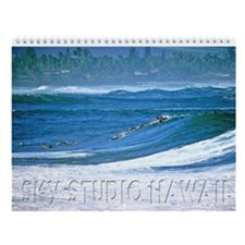 "Waimea Bay ""Big Tuesday"" Wall Calendar"