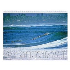 "Waimea Bay ""Big Tuesday"" Wall Calendar"