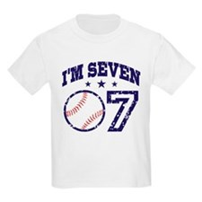 Seven Year Old Baseball T-Shirt