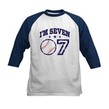 Seven Year Old Baseball Tee
