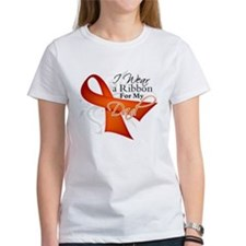 Dad Leukemia Ribbon Tee
