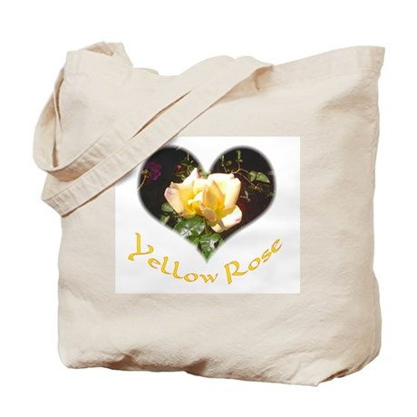 Yellow Rosebud Tote Bag