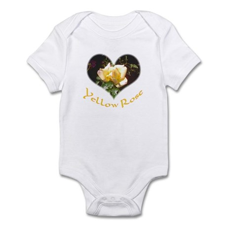 Yellow Rosebud Infant Creeper