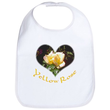 Yellow Rosebud Bib