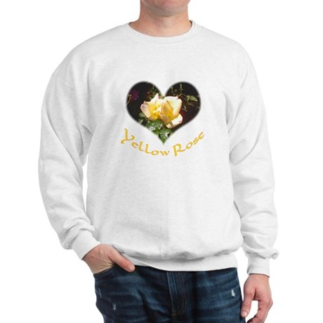 Yellow Rosebud Sweatshirt