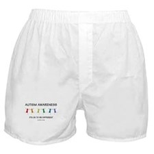 Autism Difference Boxer Shorts