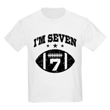 Seven Year Old Football T-Shirt