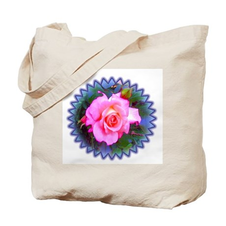 Rose in the Redwoods Tote Bag