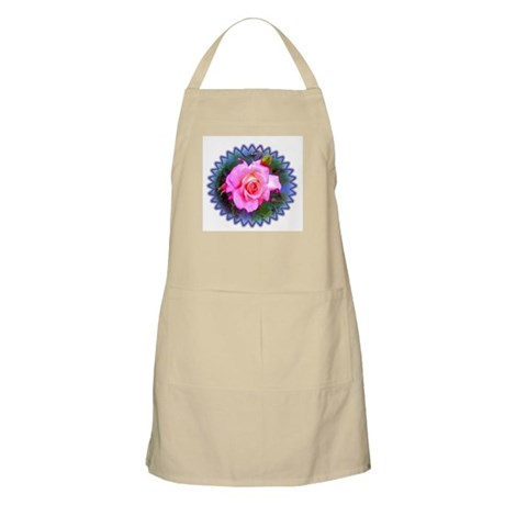 Rose in the Redwoods BBQ Apron