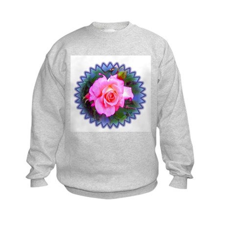 Rose in the Redwoods Kids Sweatshirt
