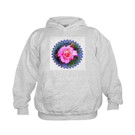Rose in the Redwoods Kids Hoodie