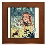 Vintage Wizard of Oz Framed Tile