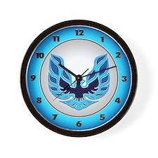 Firebird / Trans Am - Blue Wall Clock