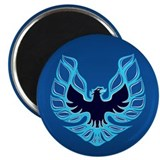 Firebird / Trans Am - Blue 2.25&quot; Magnet (10 pack)