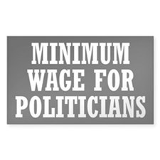 Minimum Wage Decal