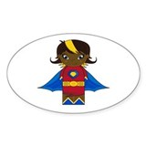 Cute Little Superhero Sticker (10 Pk)