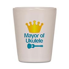 Mayor of Ukulele Shot Glass
