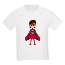 Cute Superhero Girl T-Shirt