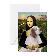 Mona/Clumber Spaniel Greeting Cards (Pk of 10)