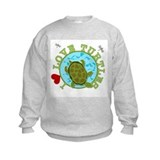 I Love Turtles Sweatshirt