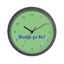 NCIS: Whaddya Got Abs? Wall Clock