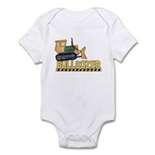 Bulldozer Infant Creeper