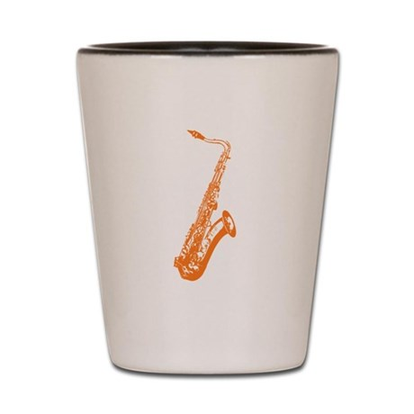 Saxophone Shot Glass