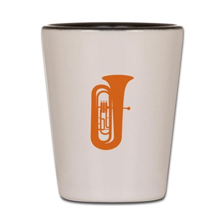 Tuba Shot Glass