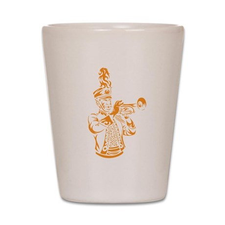 Marching Trumpet Shot Glass