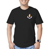 22nd Bomb Wing Men's Fitted T-Shirt (Dark)