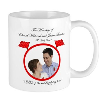 Wed Miliband Limited Edition Commemorative Mug