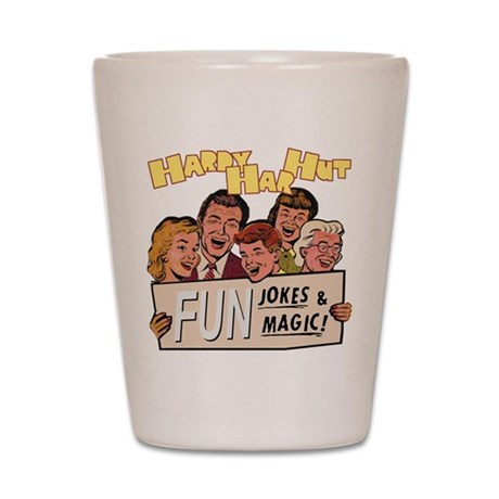 Hardy Har Hut Shot Glass