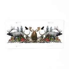 North American big game Aluminum License Plate