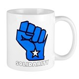 Solidarity Fist Small Mug