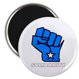 Solidarity Fist Magnet