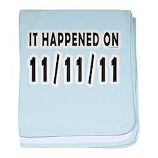 11/11/11 baby blanket