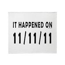 11/11/11 Throw Blanket