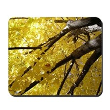 Yellow Leaves Mousepad