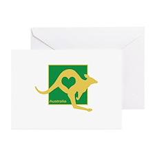 Australia Greeting Cards (Pk of 20)