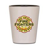 Firefighters, Hot! Shot Glass