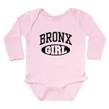 Bronx Girl Long Sleeve Infant Bodysuit