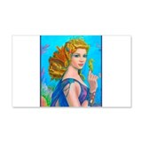 Best Seller Merrow Mermaid 22x14 Wall Peel