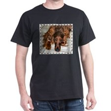 Irish Setters Black T-Shirt