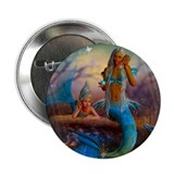 "Best Seller Merrow Mermaid 2.25"" Button (10 pack)"