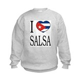 "Cuban ""I Love Salsa"" Kid's Sweatshirt"
