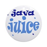 java juice Ornament (Round)