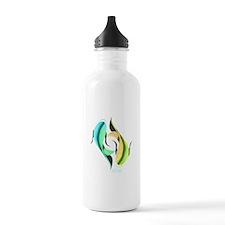 KOI FISH - YIN AND YANG FISH Water Bottle