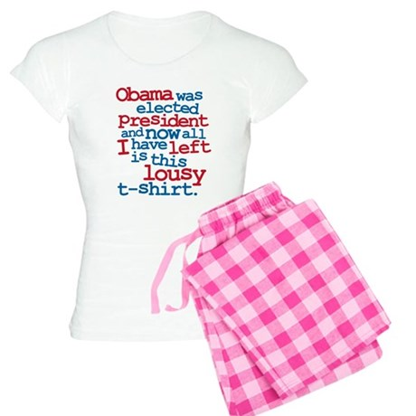 Anti Obama, lousy Women's Light Pajamas